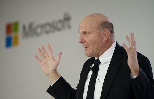 Стив Балмер, глава Microsoft (фото Android Authority).