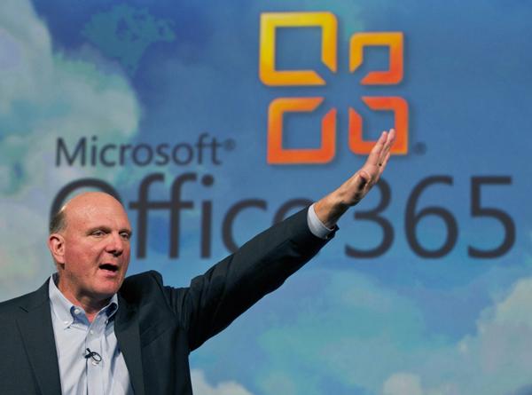 Глава Microsoft Стив Балмер (фото Рейтер).